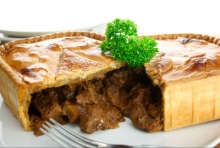 Steak & Kidney Pie for 1